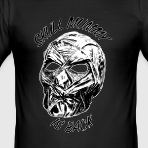 skull-mummie - Men's Slim Fit T-Shirt