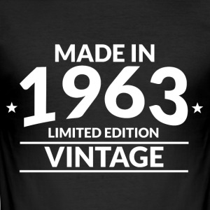 Made in 1963 - Slim Fit T-shirt herr