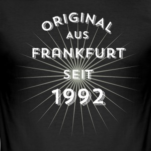 Original from Frankfurt since 1992! - Men's Slim Fit T-Shirt