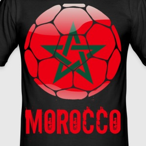 Marokko Soccer - Slim Fit T-skjorte for menn