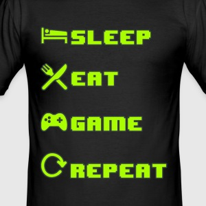 Gamer cykler - Slim Fit T-shirt herr