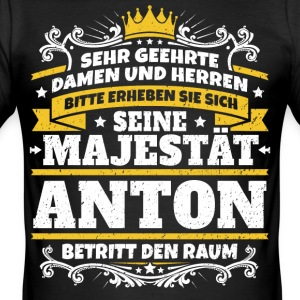 His Majesty Anton - Men's Slim Fit T-Shirt