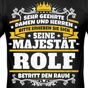 His Majesty Rolf - Men's Slim Fit T-Shirt