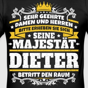 His Majesty Dieter - Herre Slim Fit T-Shirt
