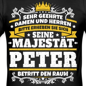 His Majesty Peter - Men's Slim Fit T-Shirt