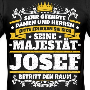 His Majesty Josef - Men's Slim Fit T-Shirt