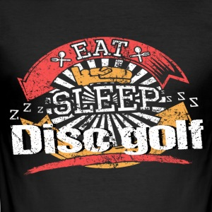 Eet Slaap Disc golf - slim fit T-shirt