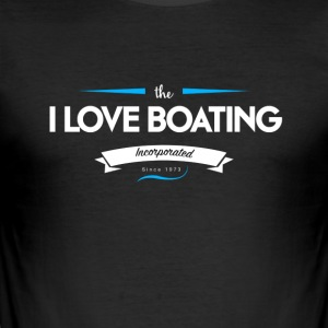 boating_logo_5 - Tee shirt près du corps Homme