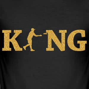 Disc Golf King - Men's Slim Fit T-Shirt