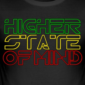 Higher State Of Mind - Men's Slim Fit T-Shirt