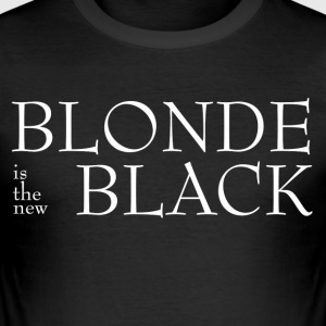 Blond! - Slim Fit T-skjorte for menn
