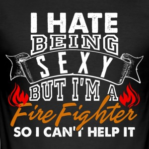 sexy Firefighter - slim fit T-shirt