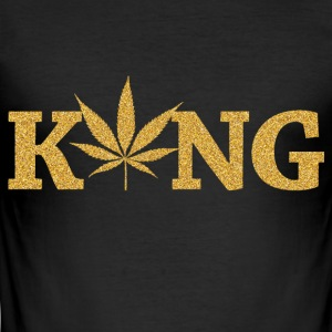 marijuana kung - Slim Fit T-shirt herr