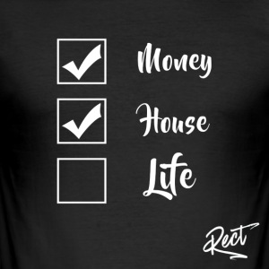 (BUT) MONEY HOUSE AND LIFE - Men's Slim Fit T-Shirt