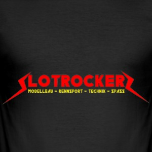 Slotrockerz - Männer Slim Fit T-Shirt
