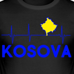 KOSOVA - Men's Slim Fit T-Shirt