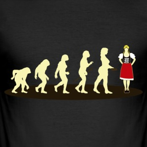 DIRNDL EVOLUTION - Men's Slim Fit T-Shirt