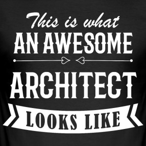 Awesome Architect - Men's Slim Fit T-Shirt