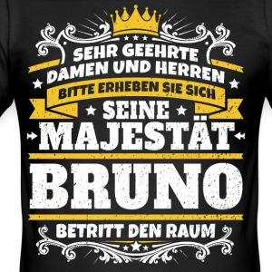 His Majesty Bruno - Men's Slim Fit T-Shirt