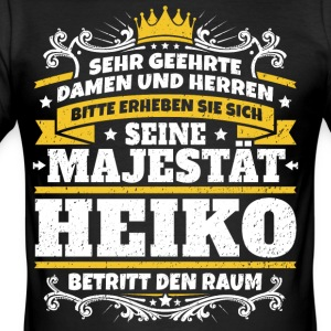 His Majesty Heiko - Men's Slim Fit T-Shirt