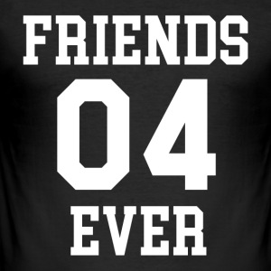 FRIENDS EVER 04 - Herre Slim Fit T-Shirt