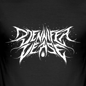 Djennifer Fresh Metal Design - Slim Fit T-shirt herr