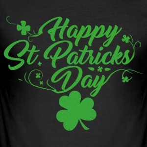 St. Patricks Day - Slim Fit T-skjorte for menn