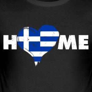 Heimatliebe Hellas - Slim Fit T-skjorte for menn