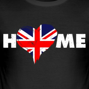 Home love England United Kingdom - Men's Slim Fit T-Shirt