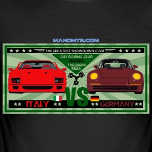 The Green Hell stor match: 959vsF40 - Slim Fit T-shirt herr