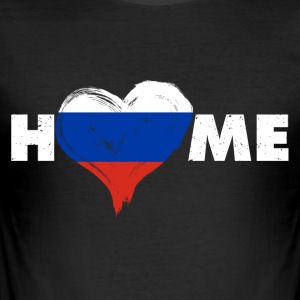 Russia Home love - Men's Slim Fit T-Shirt