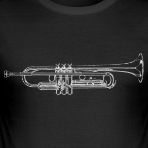 Trumpet - Men's Slim Fit T-Shirt