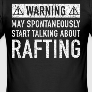 Warning: Original Raft Gift - Men's Slim Fit T-Shirt