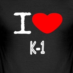I LOVE K-1 - Men's Slim Fit T-Shirt
