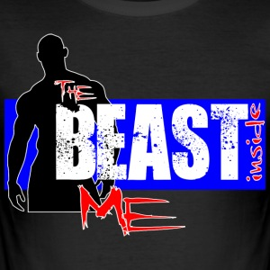 The Beast inde Me - Herre Slim Fit T-Shirt