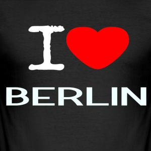 I love Berlin - slim fit T-shirt