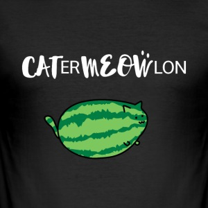 CATERMEOWLON Cats Funny - Herre Slim Fit T-Shirt