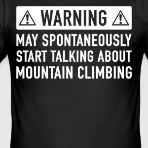 Funny Mountaineers Gift Idea - Men's Slim Fit T-Shirt