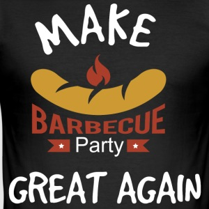 Gör Barbecue Great Again - Slim Fit T-shirt herr