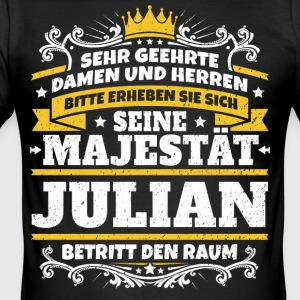 Seine Majestät Julian - Männer Slim Fit T-Shirt