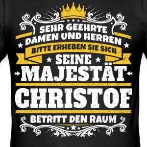 Hans Majestet Christof - Slim Fit T-skjorte for menn