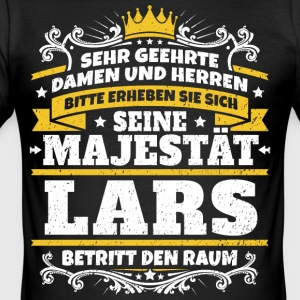 His Majesty Lars - Men's Slim Fit T-Shirt