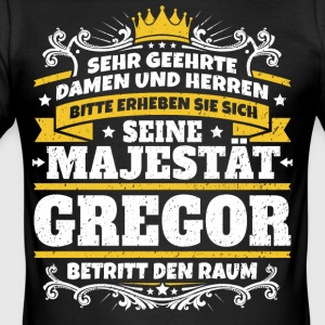 His Majesty Gregor - Men's Slim Fit T-Shirt