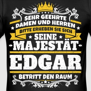 His Majesty Edgar - Men's Slim Fit T-Shirt