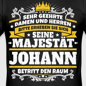His Majesty Johann - Herre Slim Fit T-Shirt