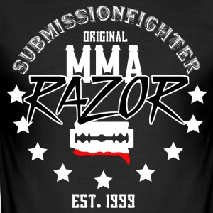 MMA - RAZOR - INDSENDELSE FIGHTER - Herre Slim Fit T-Shirt