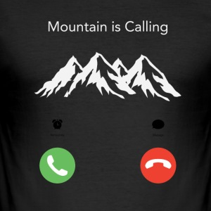 The Mountain Gesprekken - slim fit T-shirt