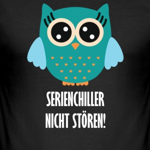 SERIENCHILLER - Männer Slim Fit T-Shirt