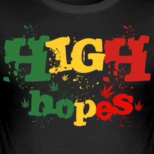 High Hopes - Men's Slim Fit T-Shirt