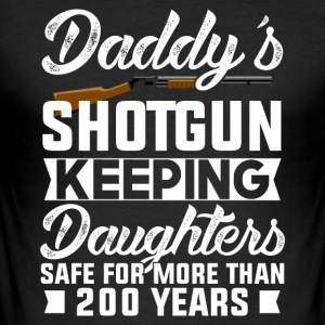 Papa Shotgun - Slim Fit T-skjorte for menn